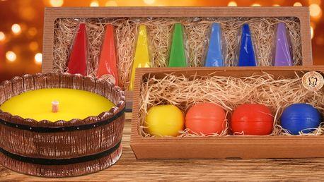 Ručně vyráběné svíčky v mnoha provedeních