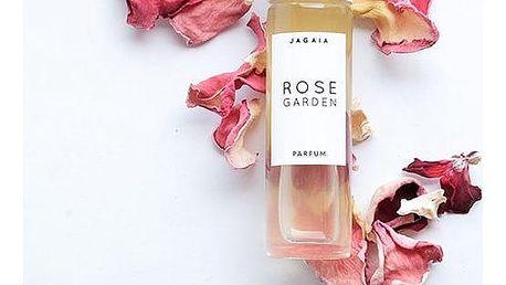 JAGAIA Parfém Rose Garden 10 ml, čirá barva, sklo
