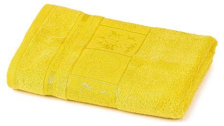 4Home Ručník Bamboo Premium žlutá