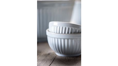 IB LAURSEN Keramická mini miska Mynte Stillwater Velikost S, modrá barva, keramika