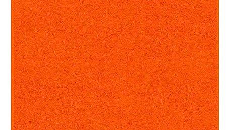 Night in Colours Osuška Olivia tmavě oranžová, 70 x 140 cm, 70 x 140 cm
