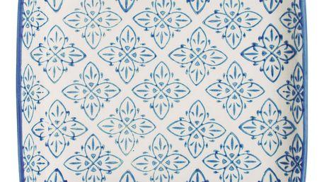 IB LAURSEN Mini tácek Casablanca blue, modrá barva, keramika
