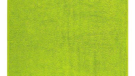 Night in Colours Ručník Olivia trávově zelená, 50 x 90 cm