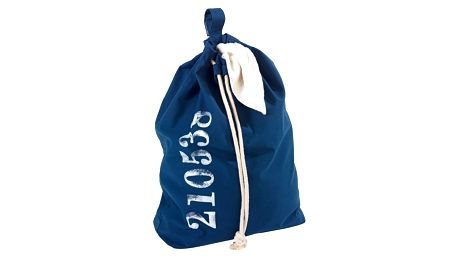 Modrý závěsný koš na prádlo Wenko Sailor, 50 l