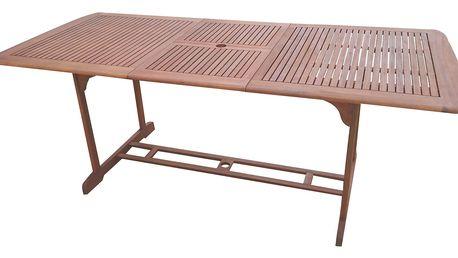 Texim Rico eukalyptový rozkládací stůl