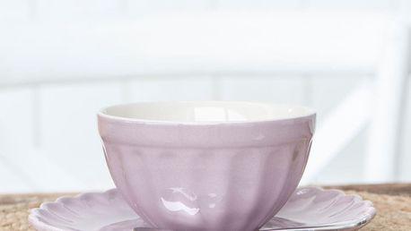 IB LAURSEN Miska na müsli Mynte Lavender haze, fialová barva, keramika
