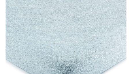 4Home froté prostěradlo světle modrá, 180 x 200 cm