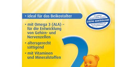 4x BEBIVITA 2 (500 g) - pokračovací mléčná kojenecká výživa