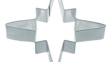 Kitchen Craft Nerez vykrajovátko - hvězda 7,5 cm, stříbrná barva, kov