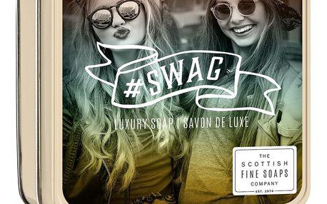 SCOTTISH FINE SOAPS Mýdlo v plechové krabičce #Swag, měděná barva, zlatá barva, kov
