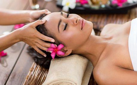 80 min odpočinku: masáž, maska a lázeň na nohy