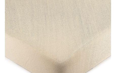4Home jersey prostěradlo béžová, 90 x 200 cm