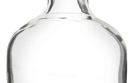 MADAM STOLTZ Skleněná vázička Lab Bottle, čirá barva, sklo