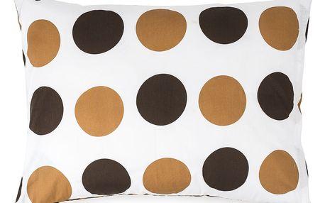 4Home Povlak na polštářek Kiko hnědá, 50 x 70 cm