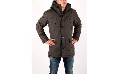 Bunda Superdry EVEREST PARKA Hnědá