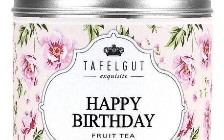 TAFELGUT Mini ovocný čaj Happy birthday - 45gr, růžová barva, kov