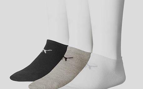 Ponožky Puma SNEAKER-V 3 Pack Barevná