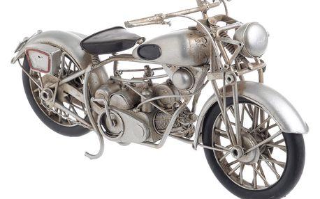 Dekorace ve tvaru motorky InArt, délka27,5cm