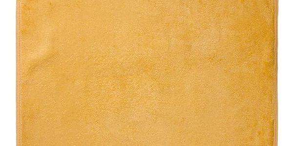 Jahu ručník bambus Ankara žlutá, 50 x 100 cm