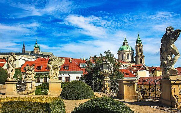 Romantická Praha s nádechem rudolfinského tajemna v hotelu se snídaní i poukazem na večeři