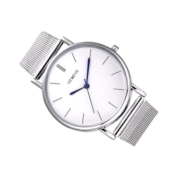 Dámské hodinky GENEVA stříbrné