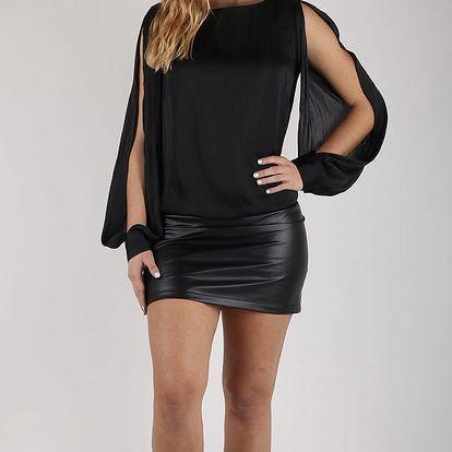 Šaty Replay W9767 Černá