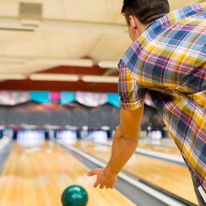 Bowling až pro 8 osob na hodinu či dvě