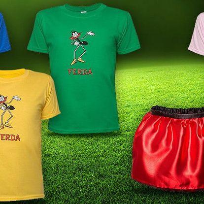 Dětská trička a sukýnky s motivem Ferdy Mravence