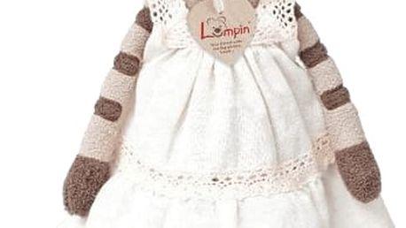 LUMPIN Kočka Angelique v šatech, střední