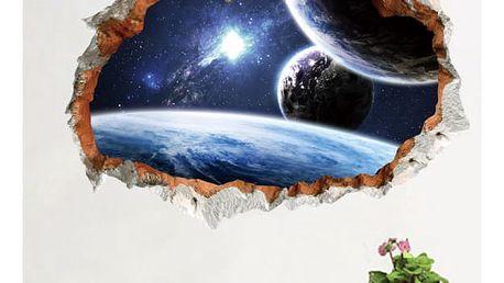 3D Vesmír na zeď