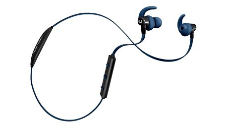 Fresh 'n Rebel Lace Sports Earbuds, Bluetooth, indigově modrá