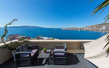 Hotel Brilant Saranda****, Dovolená snů na jihu Albánie