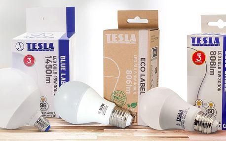 Tesla LED žárovky: rozsviťte domácnost úsporně