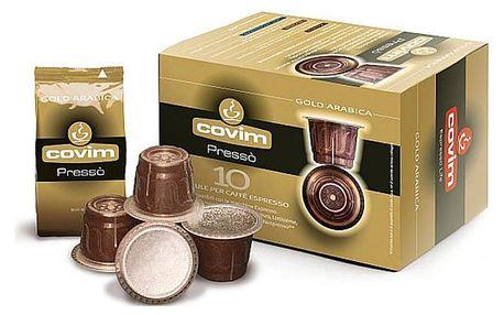 COVIM Gold Arabica kapsle pro Nespresso, 10 ks