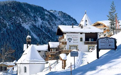 Rakousko - Tyrolsko na 8 dní, polopenze s dopravou vlastní