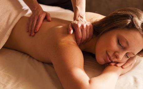 Profesionální 60minutová relaxační masáž