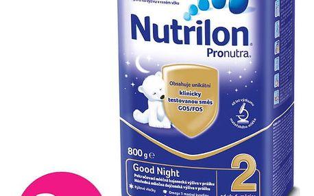 3x NUTRILON 2 ProNutra Good Night (800g) - kojenecké mléko