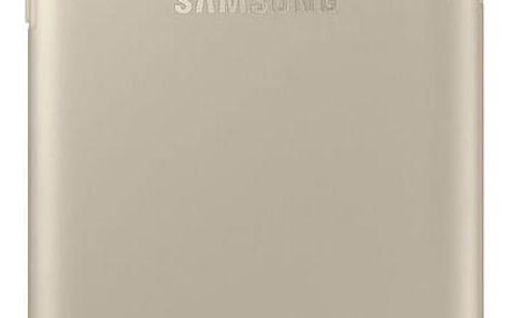 Pouzdro na mobilní telefon Samsung Jelly Cover pro Galaxy J5 2017, zlatá EF-AJ530TFEGWW
