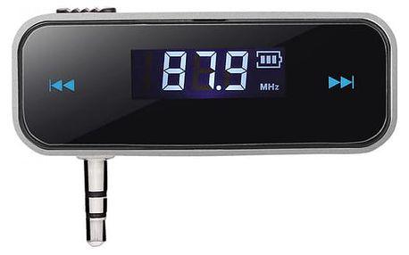 FM vysíláč s 3,5 mm konektorem