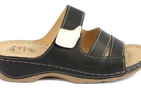 Dámské zdravotní pantofle KOKA 1 černé