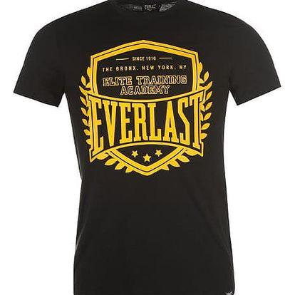 Značkové pánské triko EVERLAST černé