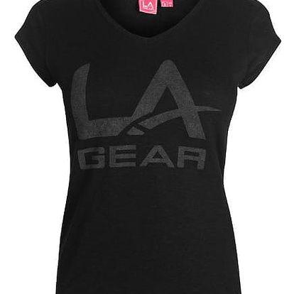 Dámské triko LA Gear černé