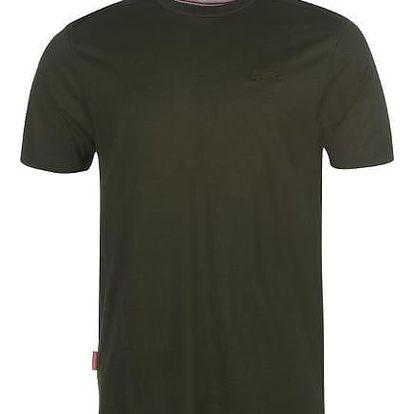Značkové pánské triko SLAZENGER khaki