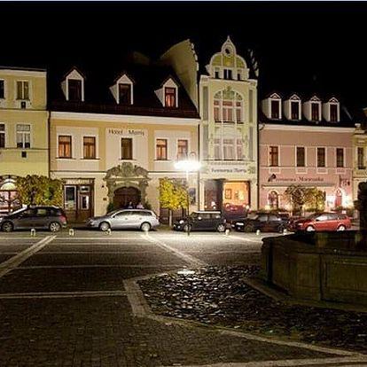Česká Lípa - 5denní wellness pobyt pro 2 osoby v hotelu Morris. Plná penze, bylinková sauna aj.