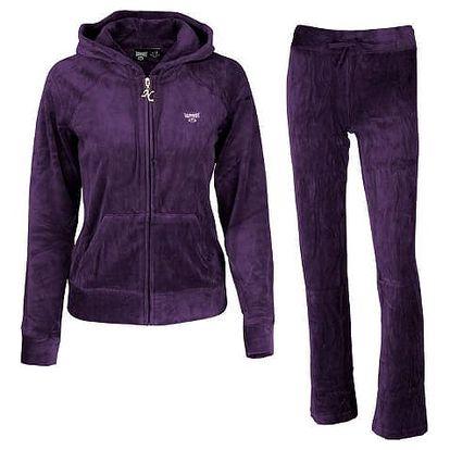 Dámský komplet Tapout Fleece fialová