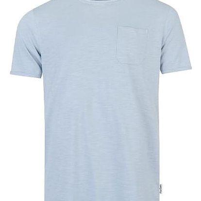 Značkové tričko Pierre Cardin RAW světle modré
