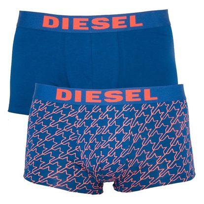 2PACK pánské boxerky Diesel vícebarevné (00S9DZ-0DAMT-02)