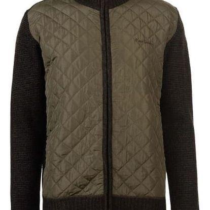 Značková pánská bunda Pierre Cardin Bonded khaki