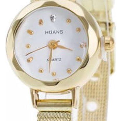 Jednoduché elegantní hodinky - 2 barvy