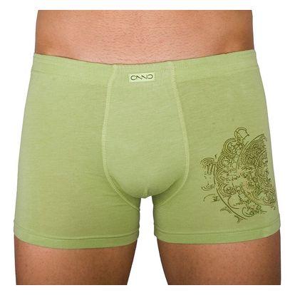 Pánské boxerky Molvy Onno soya zelené